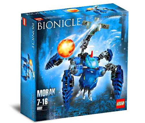 LEGO Bionicle Morak Set #8932