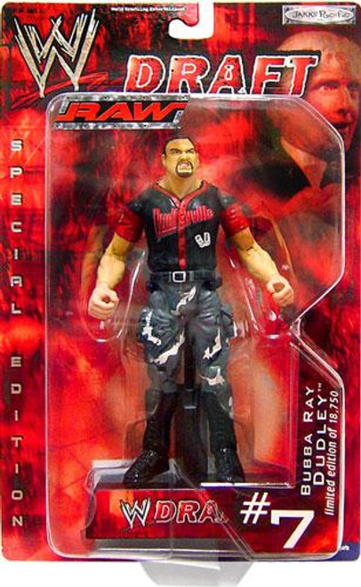 WWE Wrestling Raw Draft Bubba Ray Dudley Action Figure #7