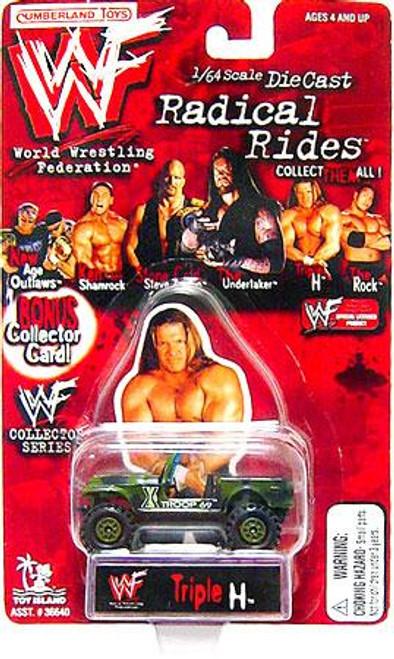WWE Wrestling Radical Rides Triple H Jeep Diecast Car
