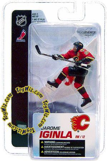 McFarlane Toys NHL Calgary Flames Sports Picks 3 Inch Mini Series 4 Jarome Iginla Mini Figure