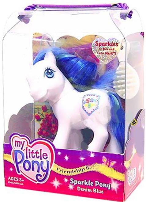 My Little Pony Friendship Ball Sparkle Pony Denim Blue Figure
