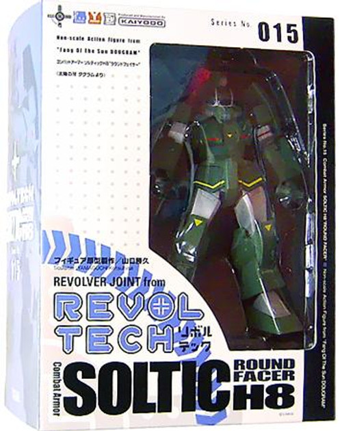 Fang of the Sun Dougram Revoltech Soltic Round Facer H8 Action Figure #015
