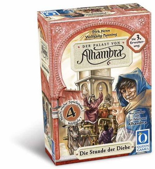 Alhambra The Thiefs Turn Board Game Expansion #3