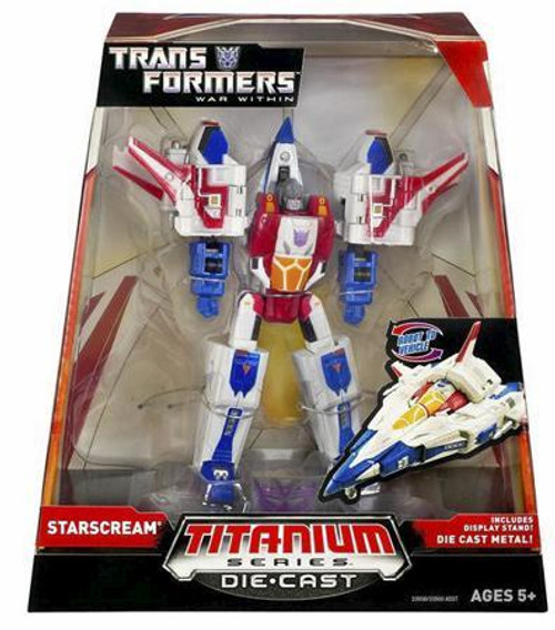 "Transformers War Within TItanium Series Starscream 6-Inch 6"" Diecast Figure"
