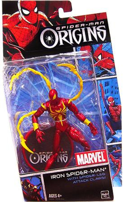 Spider-Man Origins Heroes Series 2 Iron Spider-Man Action Figure