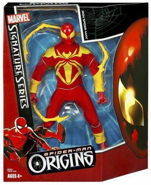 Spider-Man Origins Signature Series 2 Iron Spider-Man Action Figure