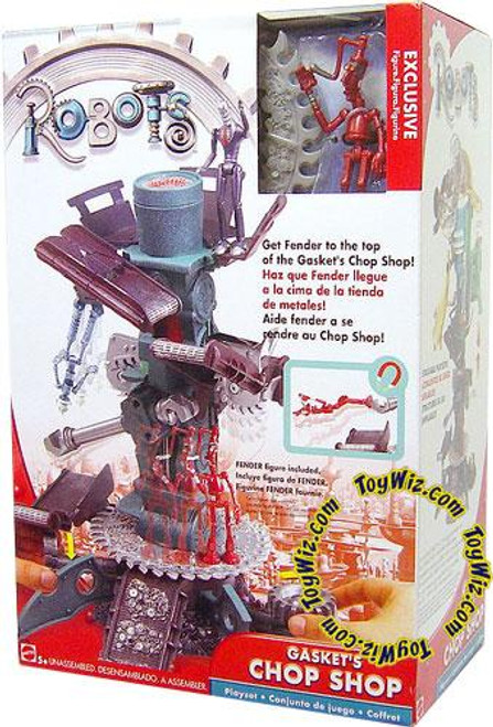 Robots Gasket's Chop Shop Exclusive Playset