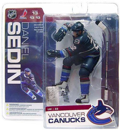 McFarlane Toys NHL Vancouver Canucks Sports Picks Series 13 Daniel Sedin Action Figure