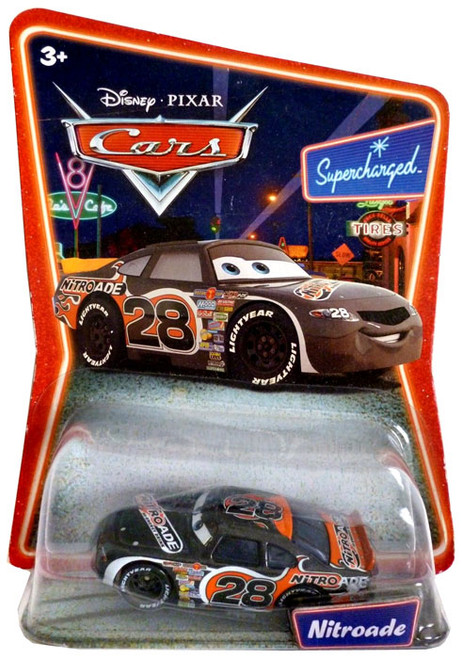 Disney Cars Supercharged Nitroade Diecast Car