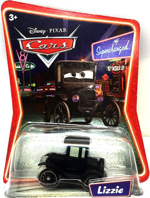 Disney Cars Supercharged Lizzie Diecast Car