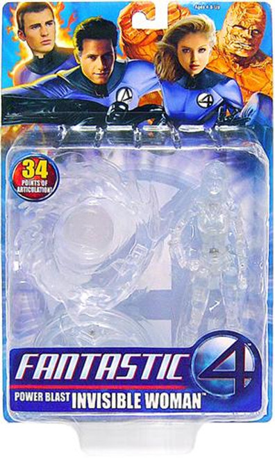 Marvel Fantastic Four Invisible Woman Action Figure [Power Blast]