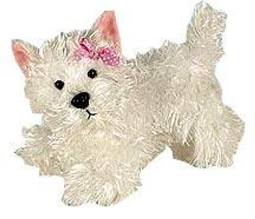 Webkinz Lil' Kinz White Terrier Plush