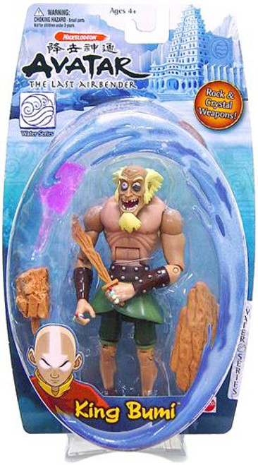 Avatar the Last Airbender Water Series King Bumi Action Figure