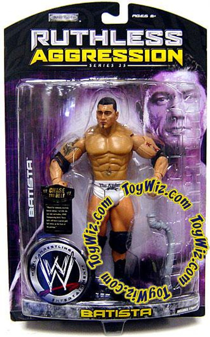 WWE Wrestling Ruthless Aggression Series 25 Batista Action Figure