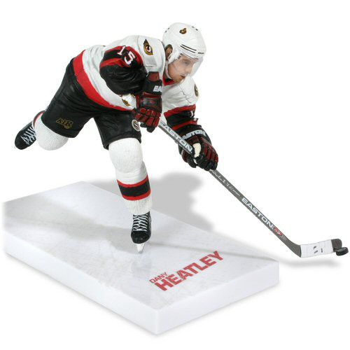 McFarlane Toys NHL Ottawa Senators Sports Picks Series 13 Dany Heatley Action Figure [White Jersey Variant]