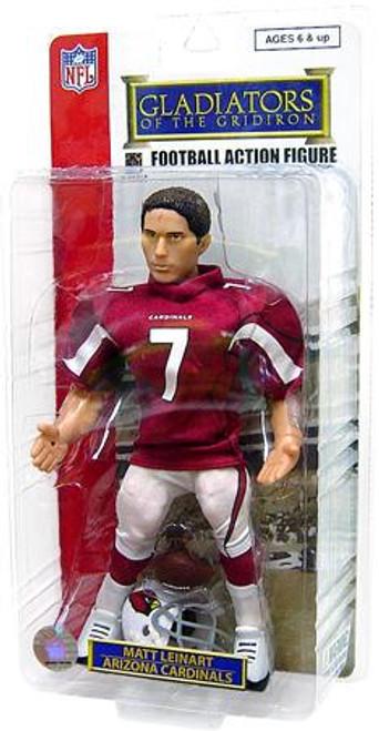 NFL Arizona Cardinals Gladiators of the Gridiron Matt Leinart Action Figure [Red Jersey, Damaged Package]