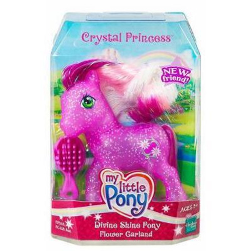 My Little Pony Crystal Princess Divine Shine Flower Garland Figure