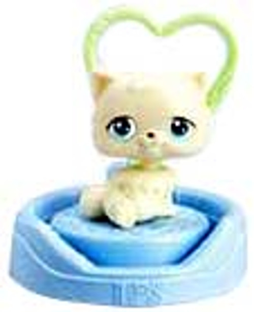 Littlest Pet Shop McDonald's Kitten Figure #3 [Random Color]