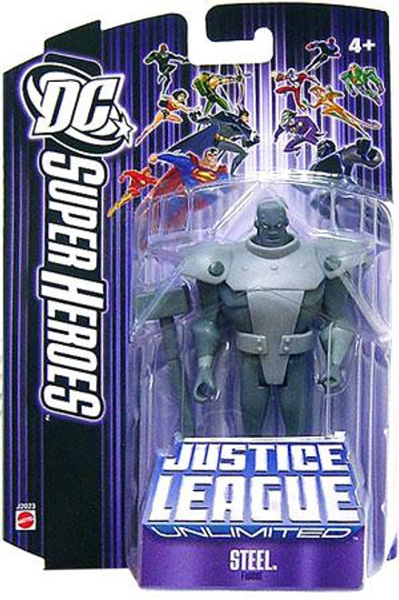 DC Justice League Unlimited Super Heroes Steel Action Figure [Purple]