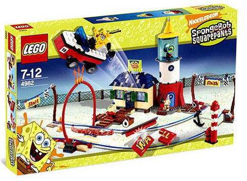 LEGO Spongebob Squarepants Mrs. Puff's Boating School Set #4982