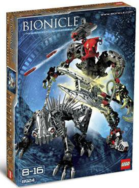 LEGO Bionicle Maxilos & Spinax Set #8924
