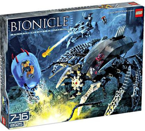 LEGO Bionicle Barraki Deep Sea Patrol Set #8925