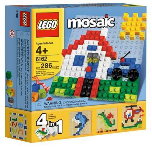 Building Fun with LEGO Mosaics Set #6162