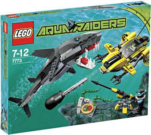 LEGO Aqua Raiders Tiger Shark Attack Set #7773