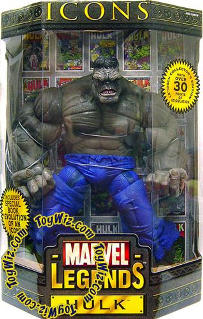 Marvel Legends Icons 12 Inch Series 2 Grey Hulk Action Figure [Variant]