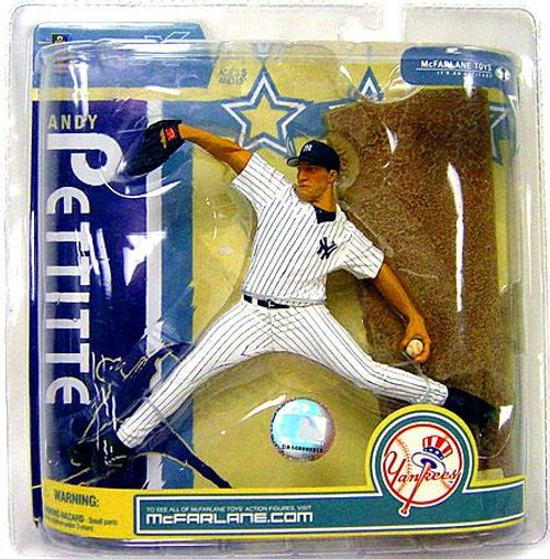 McFarlane Toys MLB New York Yankees Sports Picks Series 19 Andy Pettitte Action Figure [White Jersey]