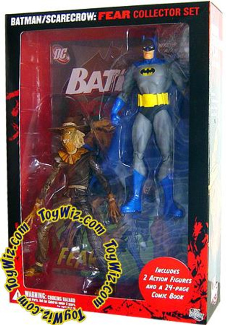 Batman Scarecrow Fear Collector Set