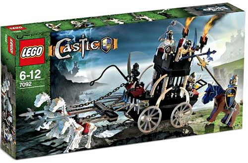 LEGO Castle Skeleton Prison Carriage Set #7092