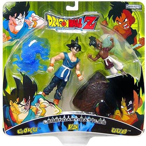 Dragon Ball Z Legendary Battles Goku Vs. Uub Action Figure 2-Pack