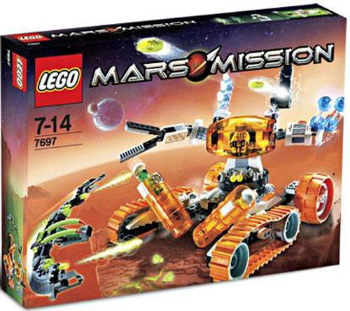 LEGO Mars Mission MT-51 Claw Tank Ambush Set #7697