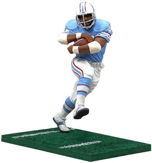 McFarlane Toys NFL Houston Oilers Sports Picks Legends Series 3 Earl Campbell Action Figure [Blue Jersey]