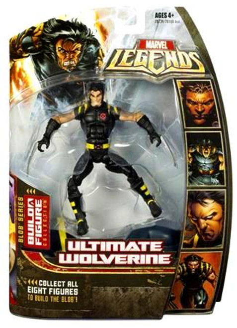 Marvel Legends Series 17 Blob Ultimate Wolverine Action Figure