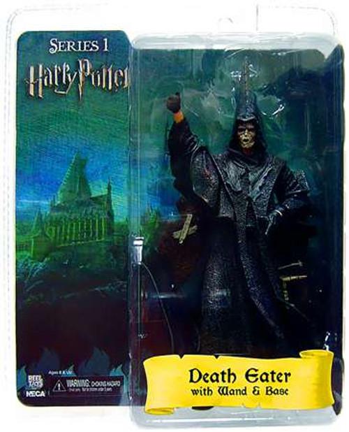 NECA Harry Potter The Goblet of Fire Death Eater Action Figure [Flesh Mask]