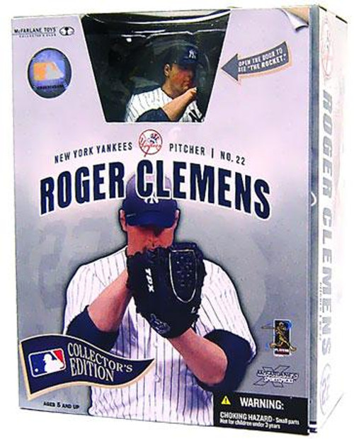 McFarlane Toys MLB New York Yankees Sports Picks Collector's Edition Roger Clemens Action Figure [New York Yankees]