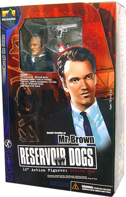 Reservoir Dogs Mr. Brown 12 Inch Action Figure