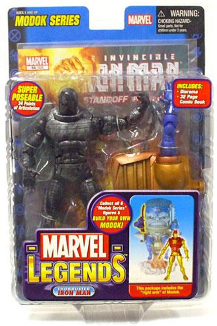 Marvel Legends Series 15 M.O.D.O.K. Destroyer Action Figure [Iron Man Variant, Factory Error]