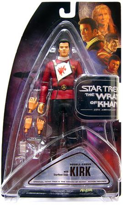 Star Trek The Wrath of Khan Series 1 Kirk Exclusive Action Figure [Double Cross]