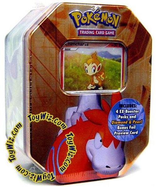 Pokemon EX 2007 Series 1 Camerupt Collector Tin