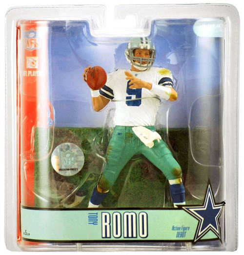 McFarlane Toys NFL Dallas Cowboys Sports Picks Series 15 Tony Romo Action Figure [White Jersey]