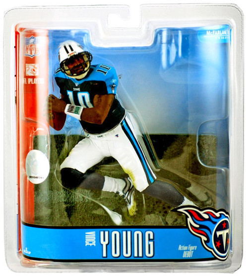McFarlane Toys NFL Tennessee Titans Sports Picks Series 15 Vince Young Action Figure [White Pants]