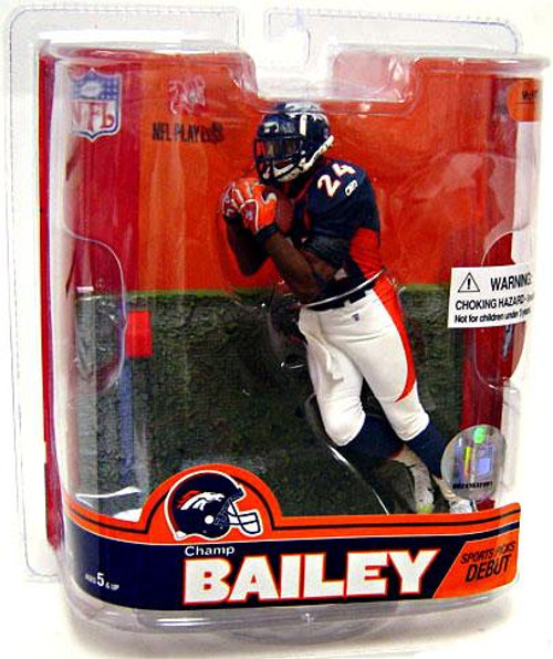 McFarlane Toys NFL Denver Broncos Sports Picks Series 16 Champ Bailey Action Figure