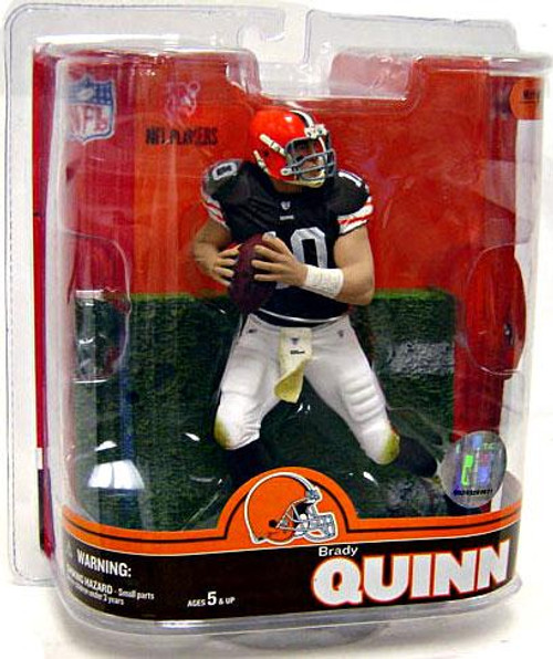 McFarlane Toys NFL Cleveland Browns Sports Picks Series 16 Brady Quinn Action Figure