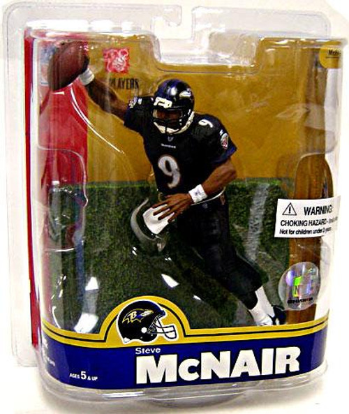 McFarlane Toys NFL Baltimore Ravens Sports Picks Series 16 Steve McNair Action Figure