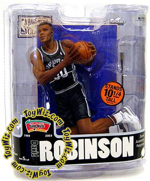 McFarlane Toys NBA San Antonio Spurs Sports Picks Legends Series 3 David Robinson Action Figure
