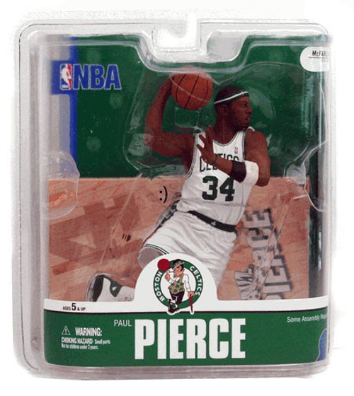McFarlane Toys NBA Boston Celtics Sports Picks Series 13 Paul Pierce Action Figure [White Jersey]