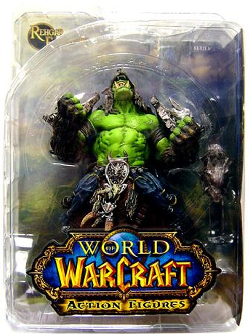 World of Warcraft Series 1 Rehgar Earthfury Action Figure [Orc Shaman]